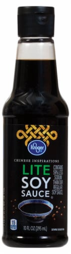 Kroger® Lite Soy Sauce Perspective: front