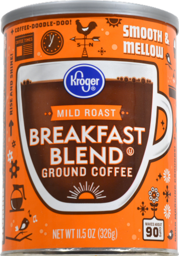 Kroger® Breakfast Blend Mild Roast Ground Coffee Perspective: front