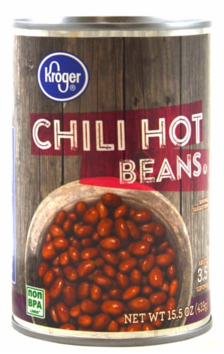 Kroger® Chili Hot Beans Perspective: front