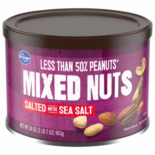 Kroger® Salted Mixed Nuts Perspective: front