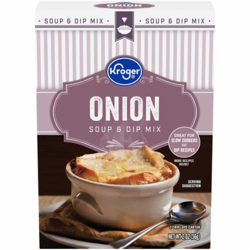 Kroger® Onion Soup & Dip Mix Perspective: front
