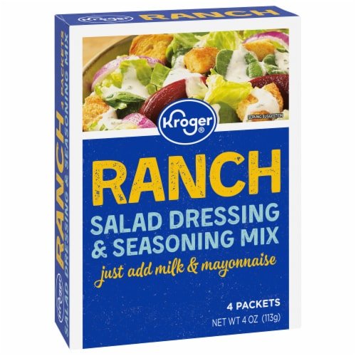 Kroger® Ranch Salad Dressing & Seasoning Mix Perspective: front