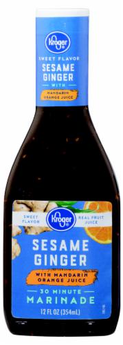 Kroger® Sesame Ginger Marinade with Mandarin Orange Juice Perspective: front