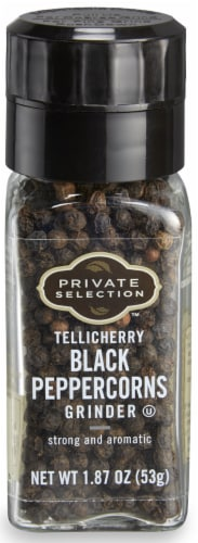 Private Selection™ Tellicherry Black Peppercorns Grinder Perspective: front