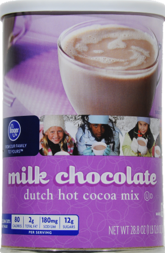 Kroger® Milk Chocolate Dutch Hot Cocoa Mix Perspective: front