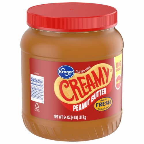 Kroger® Creamy Peanut Butter Perspective: front