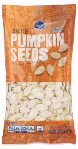 Kroger® Pumpkin Seeds Perspective: front