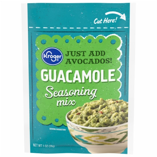 Kroger® Guacamole Seasoning Mix Perspective: front