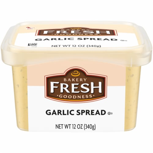 Bakery Fresh Goodness Garlic Spread Perspective: front