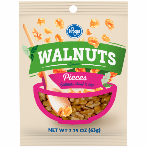 Kroger® Walnut Pieces Perspective: front