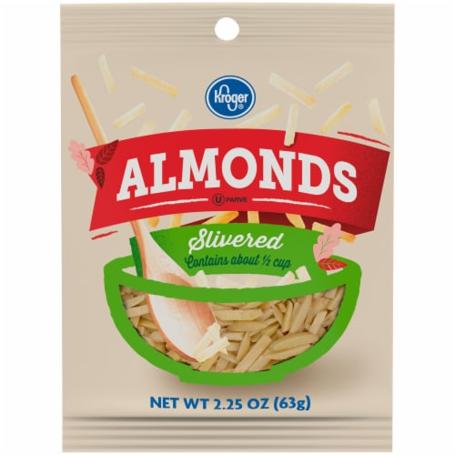 Kroger® Slivered Almonds Perspective: front