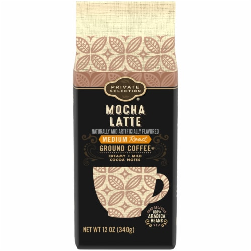 Private Selection® Mocha Latte Medium Ground Coffee Perspective: front