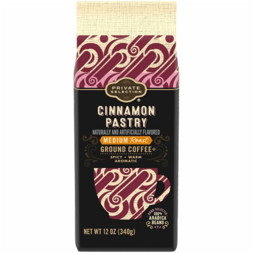 Private Selection® Cinnamon Pastry Medium Roast Ground Coffee Perspective: front