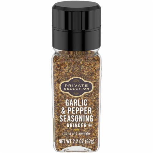 Private Selection™ Garlic & Pepper Seasoning Grinder Perspective: front