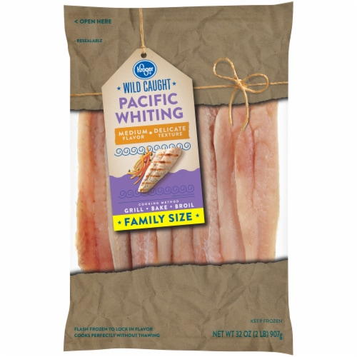 Kroger® Wild Caught Pacific Whiting Perspective: front