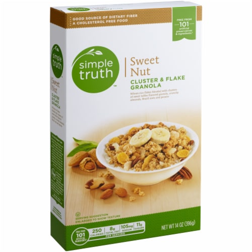 Simple Truth™ Sweet Nut Cluster & Flake Granola Perspective: front
