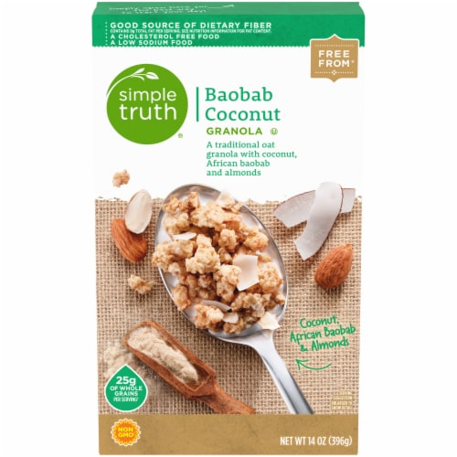 Simple Truth™ Baobab Coconut Granola Perspective: front