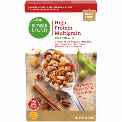 Simple Truth® High Protein Multigrain Granola Perspective: front