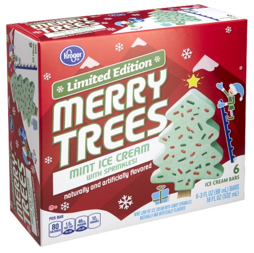 Kroger Christmas Hours.Fred Meyer Kroger Holiday Merry Trees Mint Ice Cream Bars