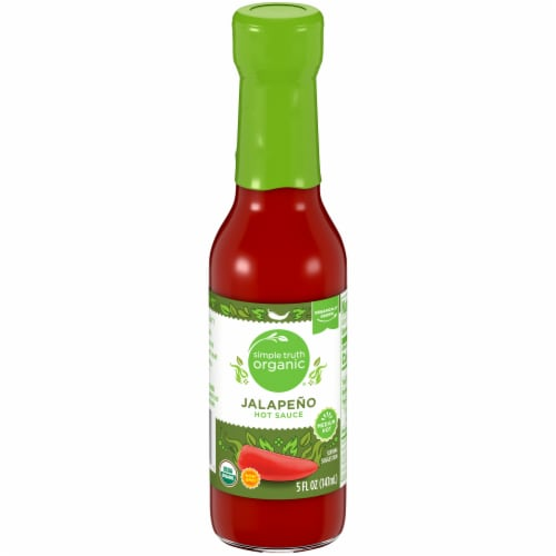 Simple Truth Organic® Jalapeno Hot Sauce Perspective: front