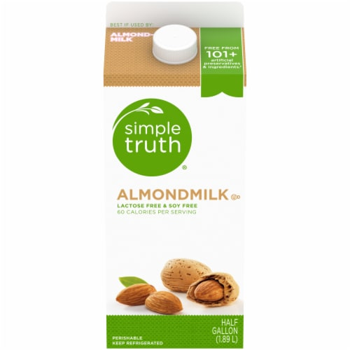 Simple Truth® Almond Milk Perspective: front
