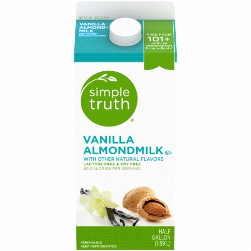 Simple Truth™ Vanilla Almond Milk Perspective: front