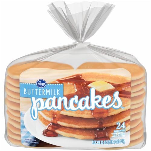 Kroger® Buttermilk Pancakes 24 Count Perspective: front