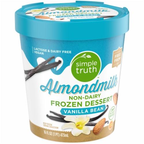 Simple Truth™ Vanilla Bean Almond Frozen Dessert Perspective: front