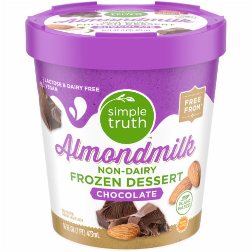 Simple Truth™ Chocolate Almond Frozen Dessert Perspective: front