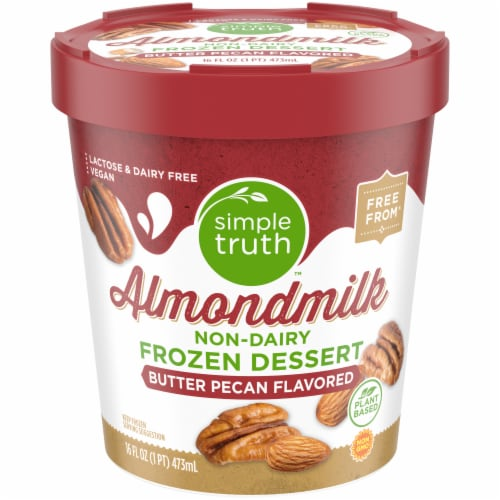 Simple Truth™ Butter Pecan Almondmilk Ice Cream Perspective: front