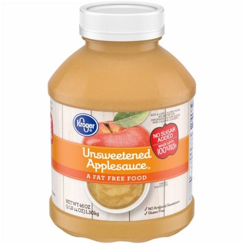 Kroger® Unsweetened Applesauce Perspective: front