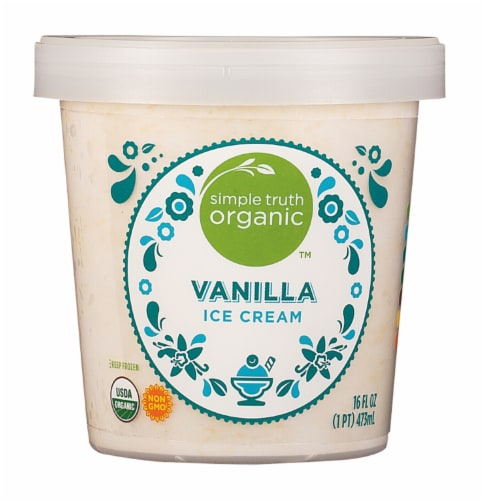 Simple Truth Organic™ Vanilla Ice Cream Perspective: front