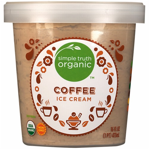 Simple Truth Organic™ Coffee Ice Cream Perspective: front