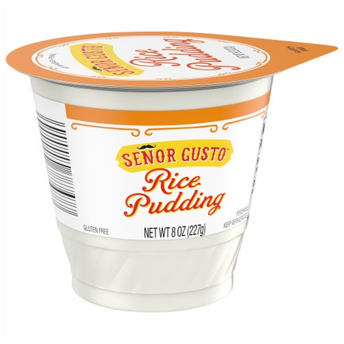 Senor Gusto Gluten Free Rice Pudding Perspective: front