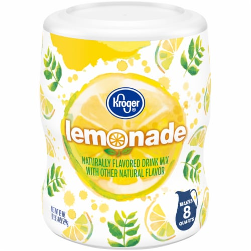 Kroger® Old Fashioned Lemonade Drink Mix Perspective: front