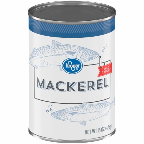 Kroger® Wild Caught Mackerel Perspective: front