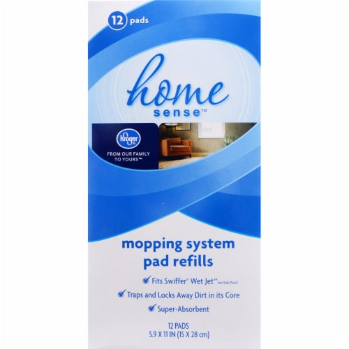 Kroger® Mopping System Pad Refills 12 Count Perspective: front