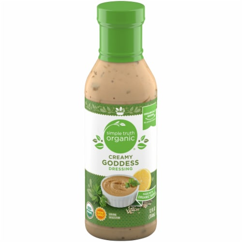 Simple Truth Organic® Creamy Goddess Dressing Perspective: front