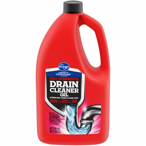 Kroger® Pro-Strength Drain Cleaner Gel Perspective: front