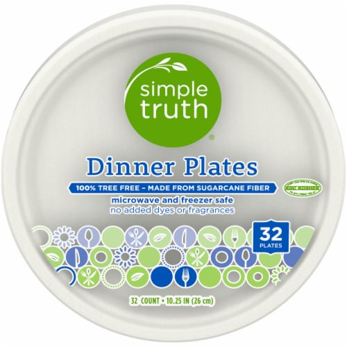 Simple Truth™ Dinner Plates Perspective: front