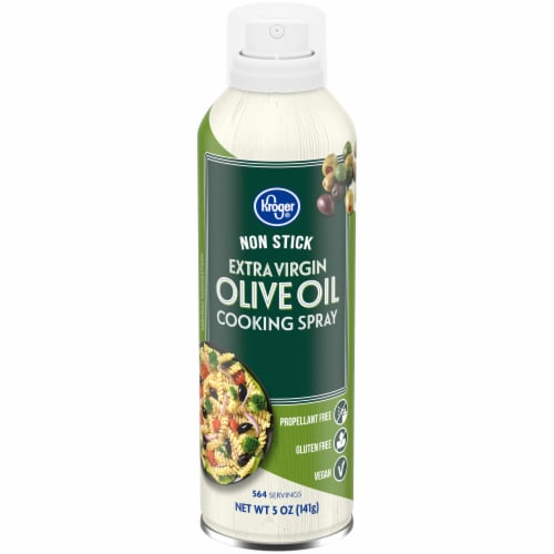Kroger® Non-Stick Extra Virgin Olive Oil Cooking Spray Perspective: front