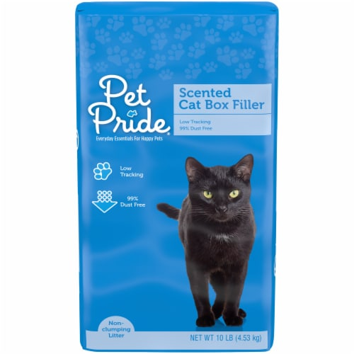 Pet Pride® Scented Cat Box Filler Perspective: front