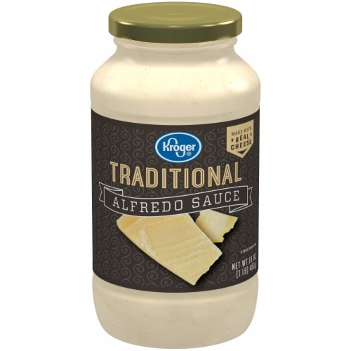 Kroger® Traditional Alfredo Sauce Perspective: front