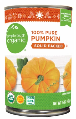 Simple Truth Organic® Solid Packed 100% Pure Pumpkin Perspective: front
