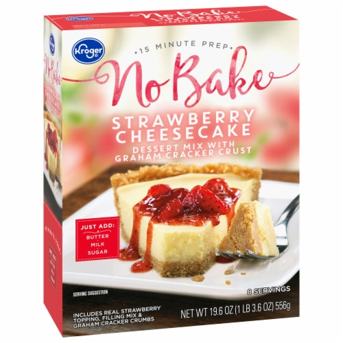 Kroger® Strawberry Cheesecake Dessert Mix Perspective: front