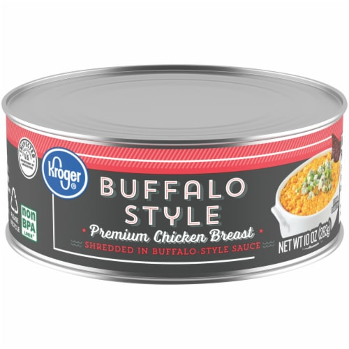 Kroger® Canned Buffalo Style Premium Chicken Breast Perspective: front