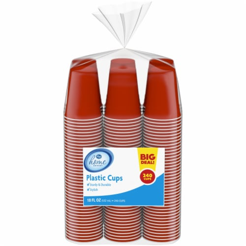 Kroger 18-Ounce Plastic Cups Perspective: front
