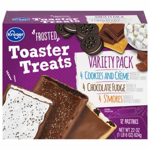Kroger® Frosted Toaster Treats Pastries Variety Pack 12 Count Perspective: front