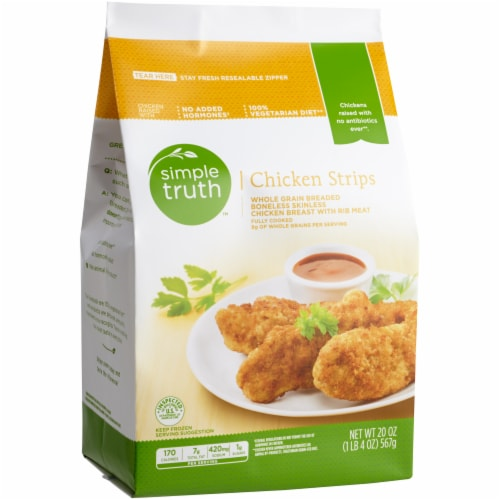 Simple Truth™ Breaded Chicken Strips Perspective: front