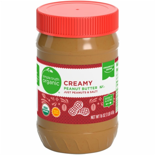 Simple Truth Organic® Creamy Peanut Butter Perspective: front